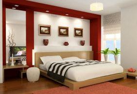 Hướng kê giường ngủ hợp phong thủy