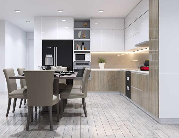 Nguyên tắc thiết kế phòng bếp biệt thự