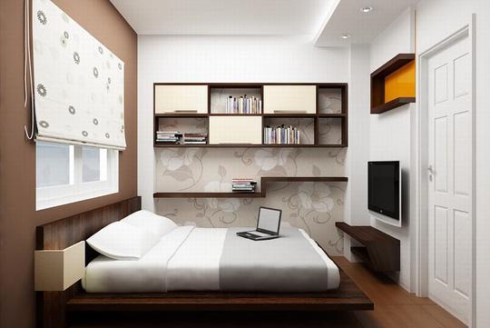 các quy luật phong thủy trong nội thất phòng ngủ;