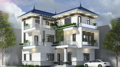 Thiết kế biệt thự 3 tầng hợp phong thủy cần lưu ý những gì ?